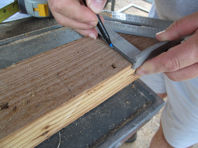 notching the table legs