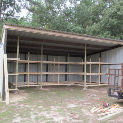 Our lumber barn project