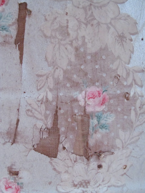 old faded rose wallpaper