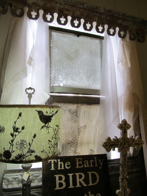 old etched windows and metal - Living Vintage