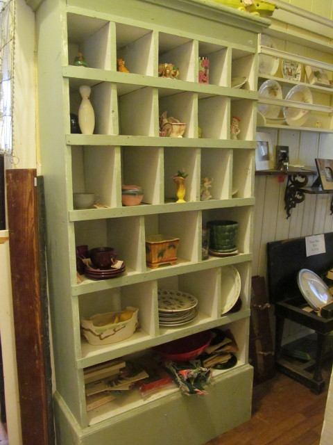 green cubby cabinet - Living Vintage