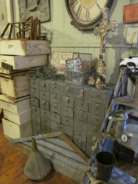 industrial cubby cabinet - Living Vintage