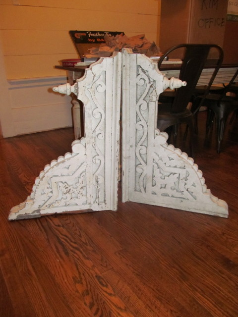 Two huge corbels that are now mine! - Living Vintage