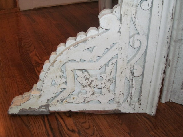 Detail shot of old corbels - Living Vintage