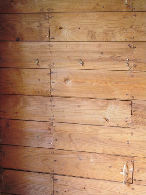 Beautiful old shiplap in pristine condition