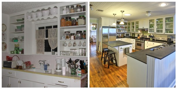 Before and After Kitchen Renovation Comparison