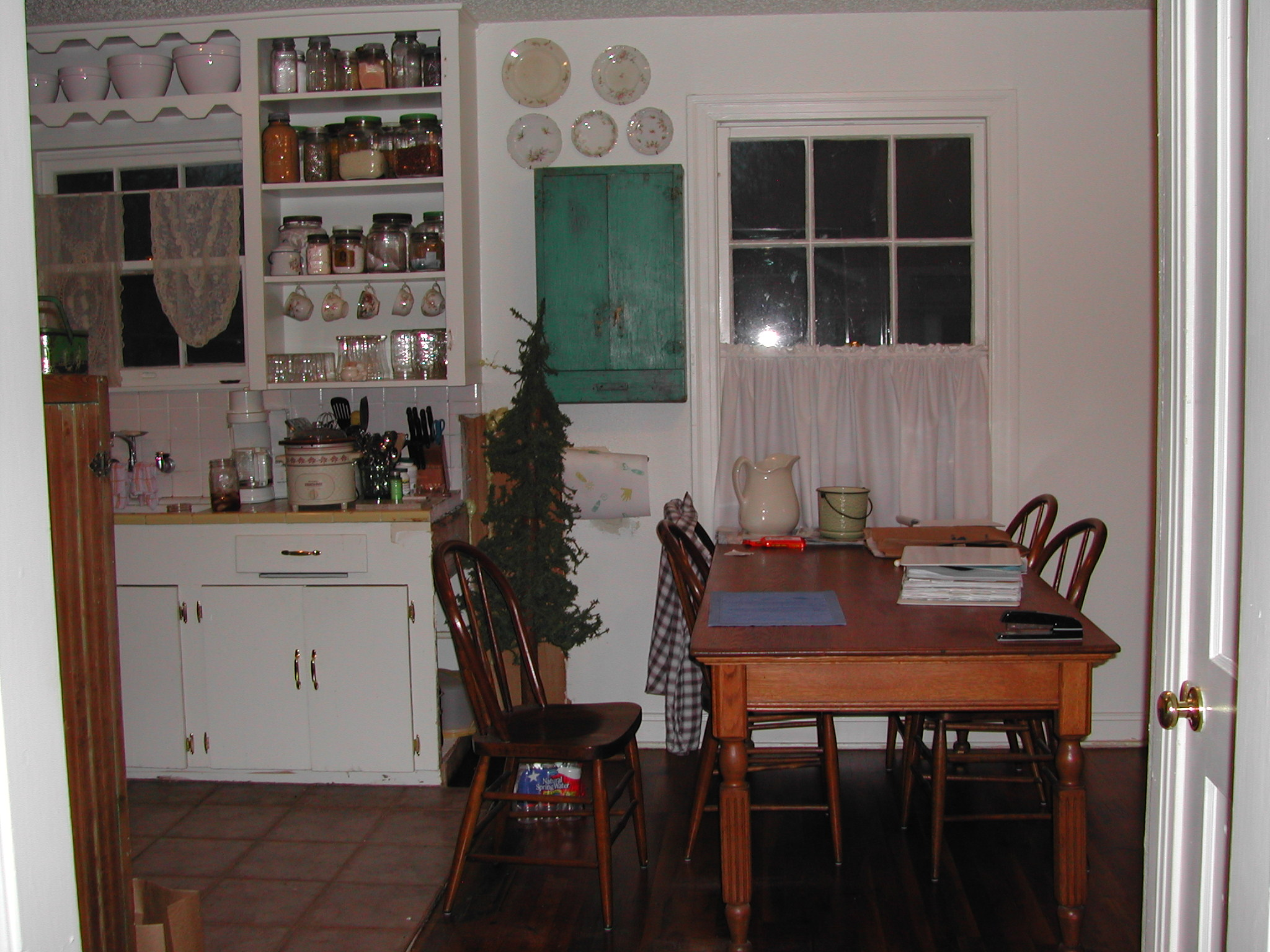 Ruth Avenue kitchen and dining room - before