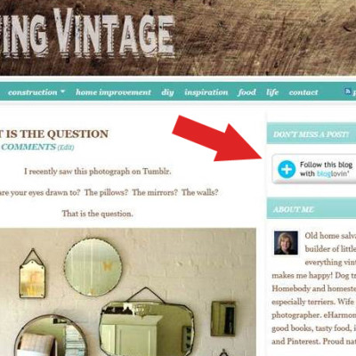 If you subscribe to Living Vintage or another blog, please read this!