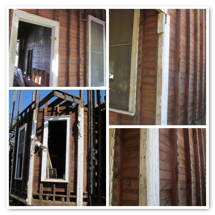 removal of clapboard siding