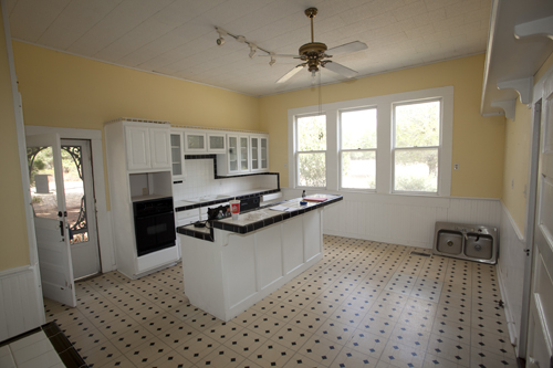 Our kitchen remodel - before pano
