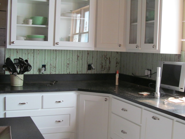 our kitchen backsplash saga - living vintage