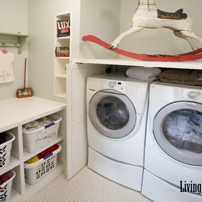 Looking Back :: My Laundry Room in Austin