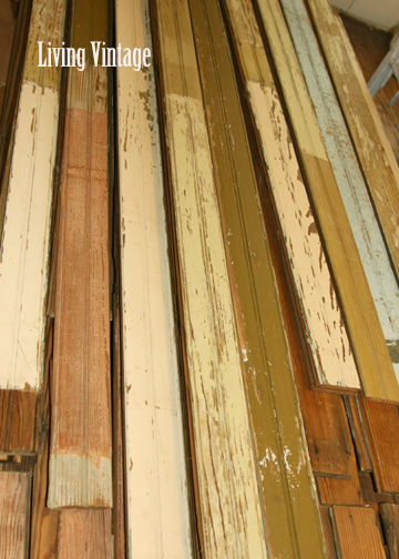 Living Vintage - colors of old beadboard