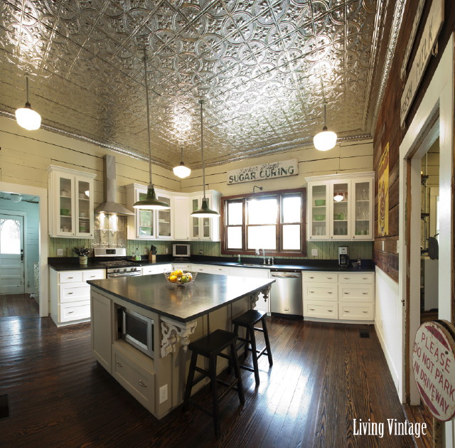 Antique Kitchens: Ready To See Our New, Vintage Kitchen?