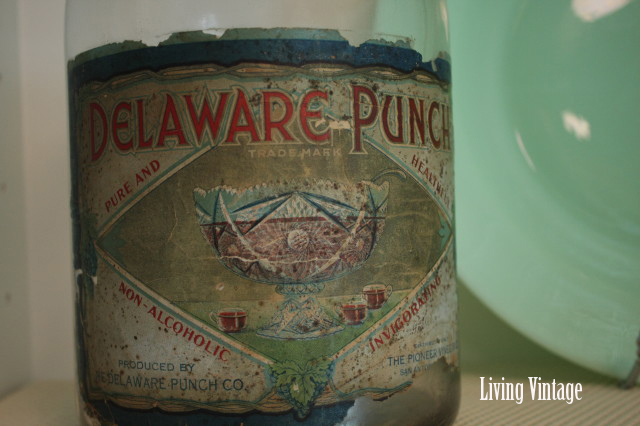 Old Delaware Punch bottle