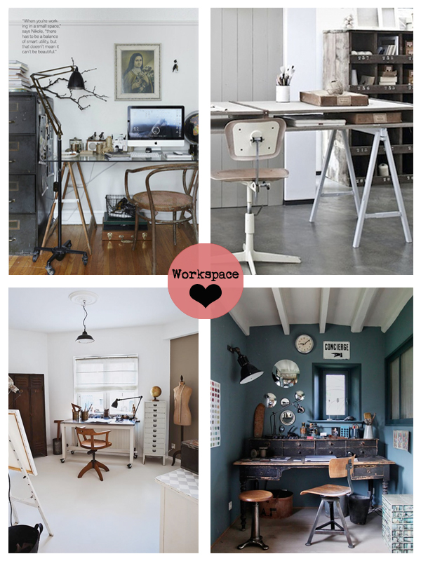 Workspace Love - Living Vintage