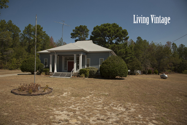 Living Vintage - our dogtrot home and the drought in 2011