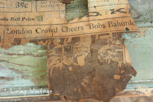 Reclaimed beadboard reveals an interesting history - Living Vintage