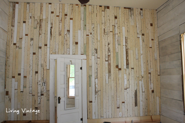 Reclaimed Wood, Paint and Stain = Progress Made in our Bedroom
