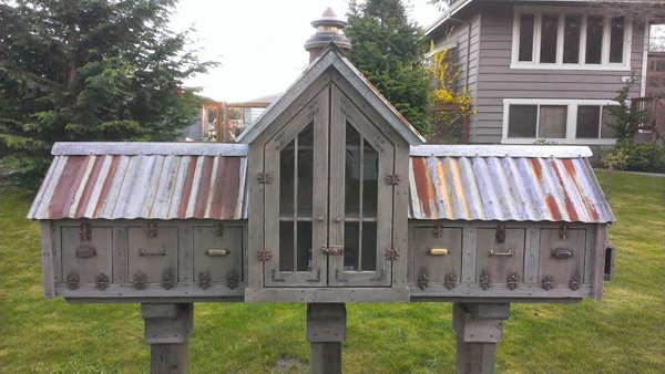 free library and mailboxes - Friday Favorites - Living Vintage