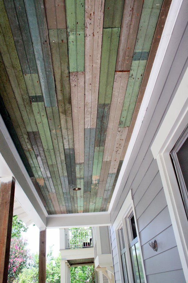 gorgeous porch ceiling - Friday Favorites - Living Vintage