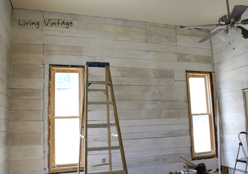 Reclaimed Wood, Paint and Stain = Progress Made in our Bedroom - Reclaimed Wood, Paint And Stain = Progress Made In Our Bedroom