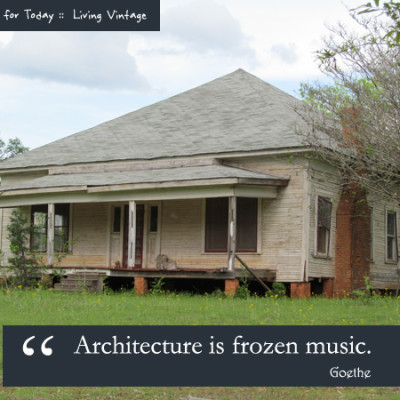 A Quote for Today :: Architecture