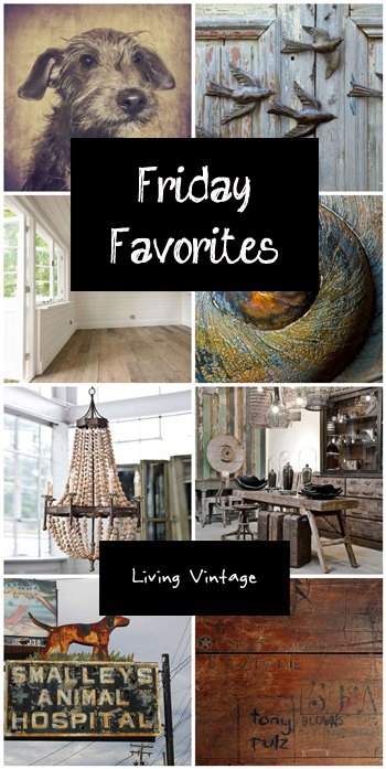 Friday Favorites - Living Vintage - November 22