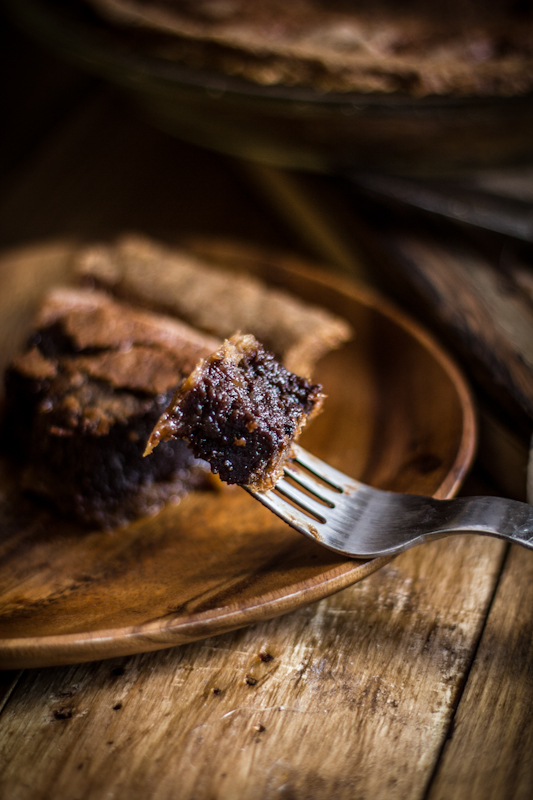 Chocolate Chess Pie Recipe - Living Vintage