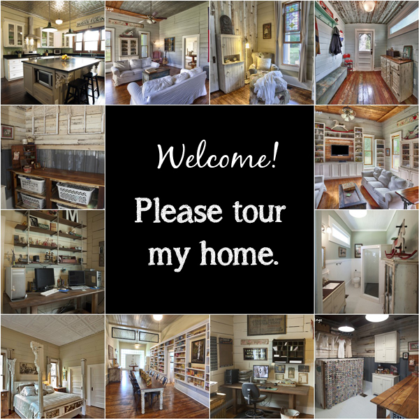 Please take a few minutes to tour Living Vintage's home!