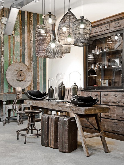 The Home Store in Amersterdam - featured on Friday Favorites - Living Vintag