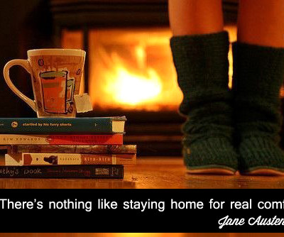 A Quote for Today : Home Comforts