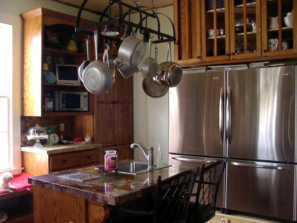 the kitchen of the farmhouse we almost bought - Living Vintage