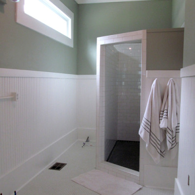 Our ensuite master bathroom project