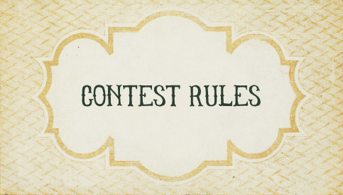 Contest rules for Living Vintage GIVEAWAY 2013