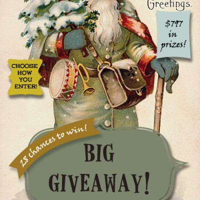Announcing our Big Christmas Giveaway!