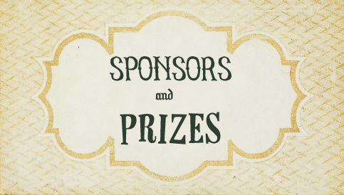 Sponsors and prizes for Living Vintage GIVEAWAY 2013