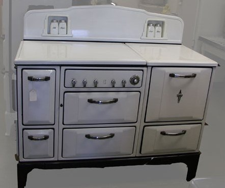 restored antique stoves - featured on Living Vintage's Friday Favorites. Come see what else we picked to share this week.