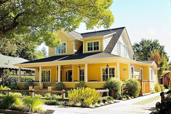 wonderful architecture with a sunny disposition - featured on Living Vintage's Friday Favorites