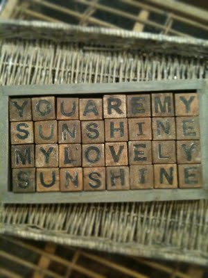You are my sunshine - Friday Favorites - Living Vintage