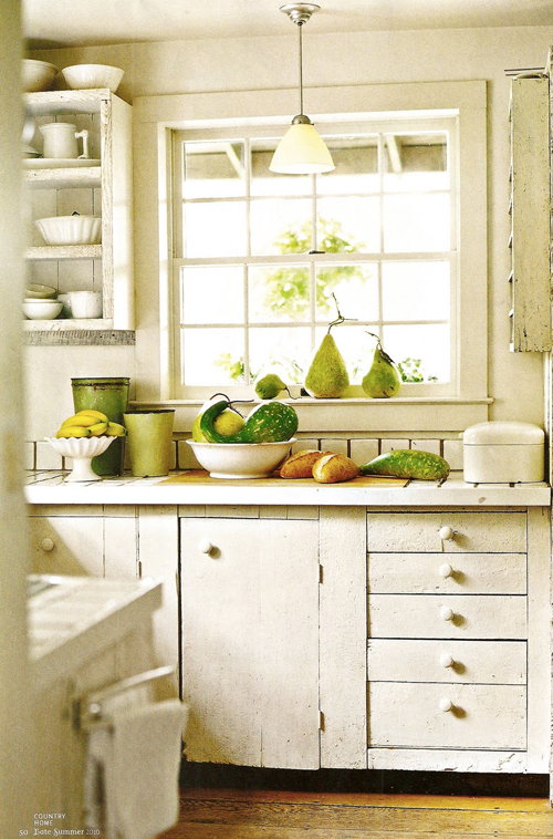 cheerful vintage kitchen - Friday Favorites - Living Vintage