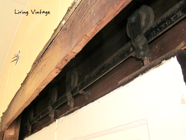 old pocket door hardware - Living Vintage - Starting Chapter Two - Living Vintage