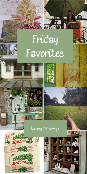 Friday Favorites - Living Vintage - Date unknown (yet) - 5