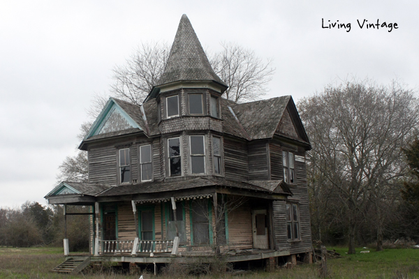 An abandoned victorian with a backyard surprise living for Victorian house trim