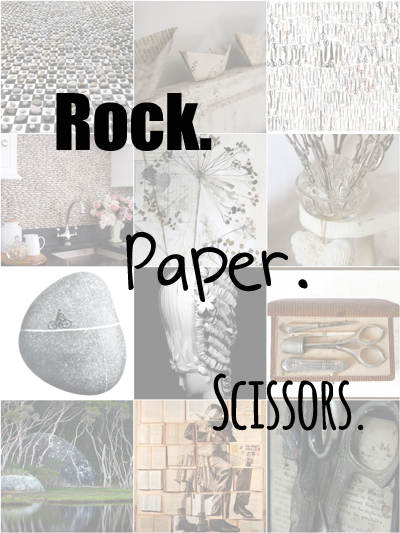 Rock. Paper. Scissors. - Living Vintage