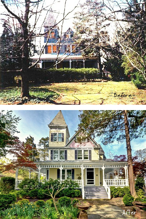 A Queen Anne Victorian in Maryland - Before and After