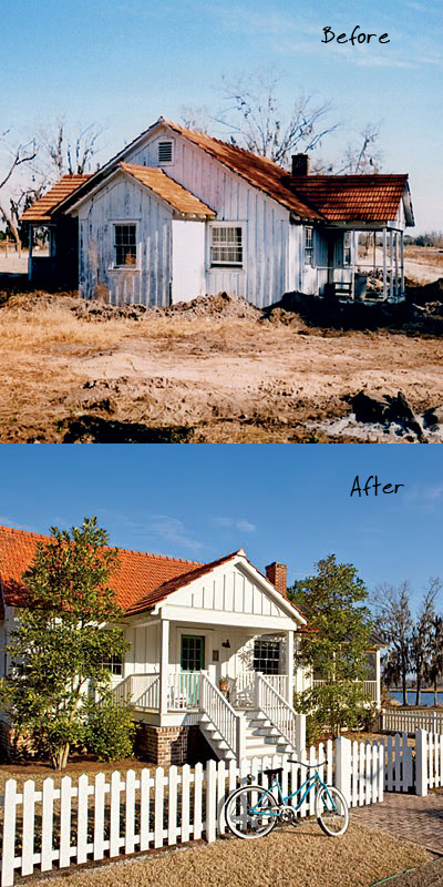 Ford Plantation - Before and After