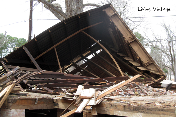 Here's how we completed our old home salvage project - Living Vintage