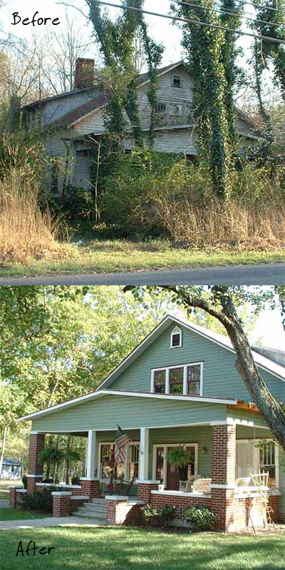 A Scary Overgrown Mess Transformed Into a Gorgeous Home - Living Vintage