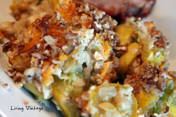 Old-Fashioned Southern Squash Casserole - Living Vintage